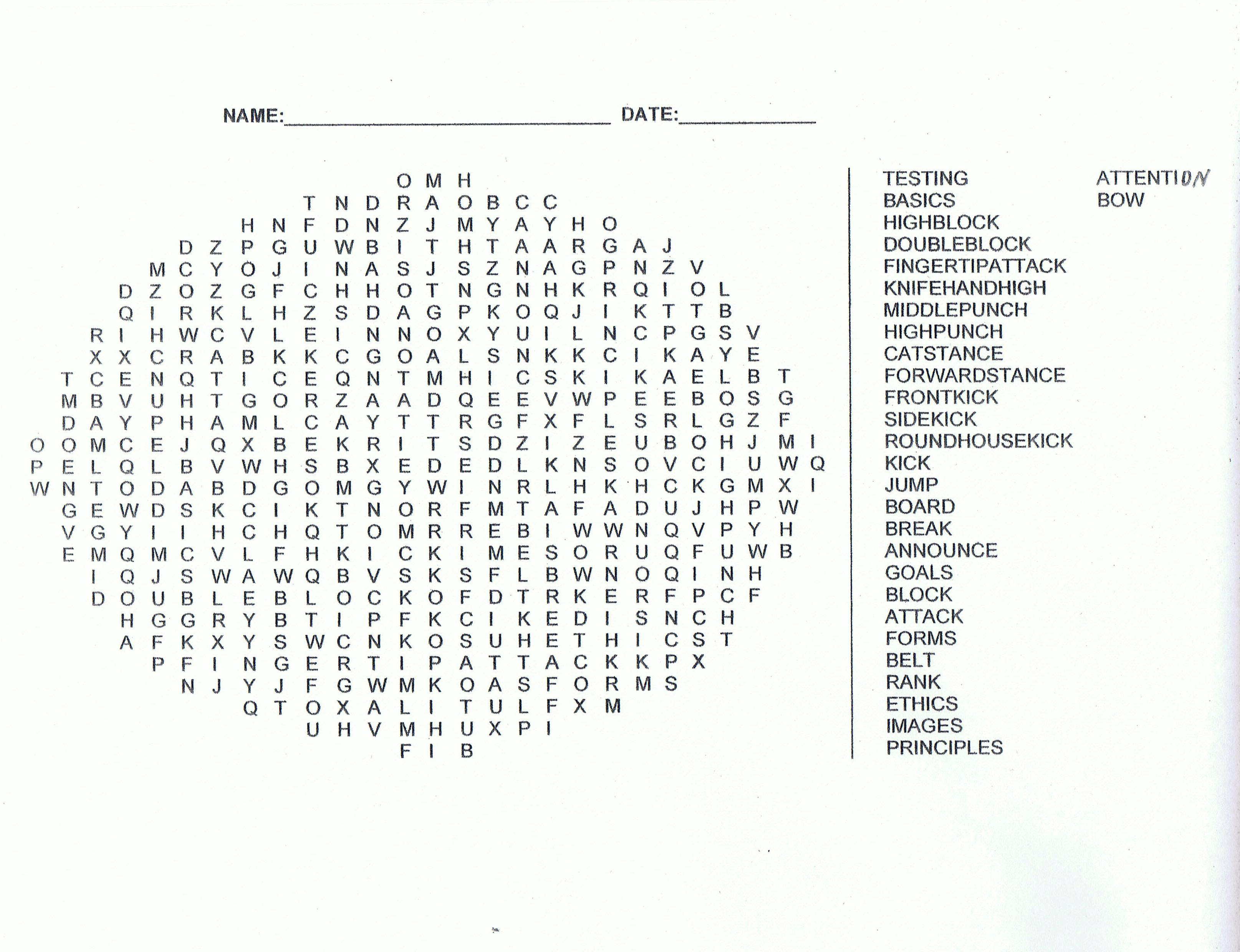 15 Jung SuWon Testing Word Search